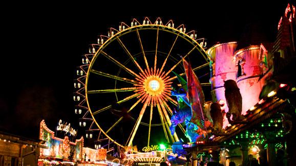 Oktoberfest Night View