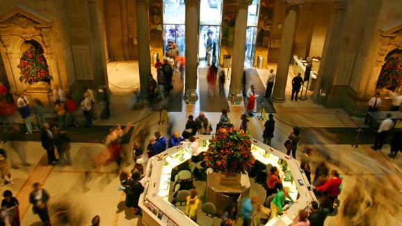 Lobby- Metropolitan Museum of Art