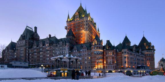 Fairmont Le Chateau Frontenac Quebec City, Quebec