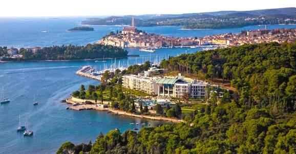 Hotel Monte Mulini Rovinj, Croatia