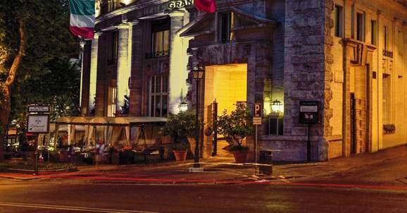 Grand Hotel Palace Rome, Italy