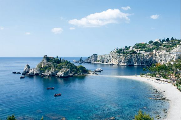 La Plage Resort Taormina, Sicily, Italy