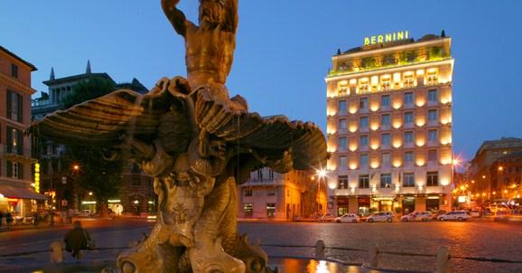 Hotel Sina Bernini Bristol Rome, Italy