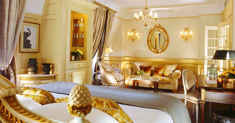 Le meurice in paris france for Design hotels in france