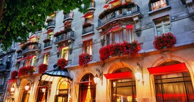Hotel Plaza Athenee in Paris, France