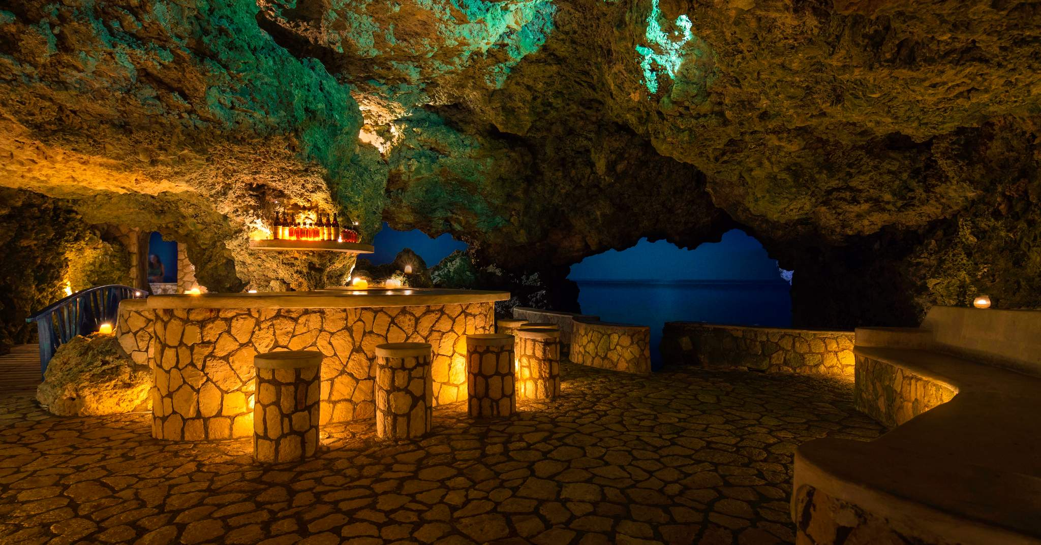 The Caves in Negril Jamaica