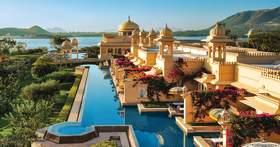 The Oberoi Udaivilas in Udaipur, Rajasthan, India