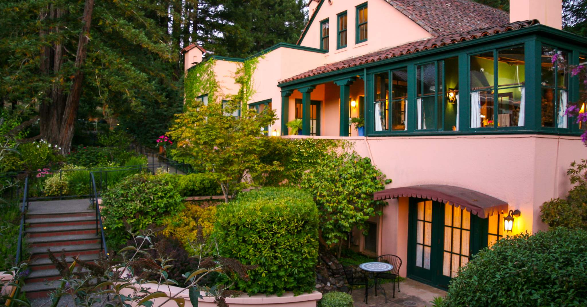 Applewood Inn Restaurant And Spa In Guerneville Sonoma