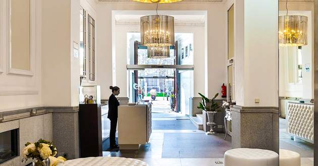 Madrid 5 star luxury hotels - Hotel puerta de alcala ...