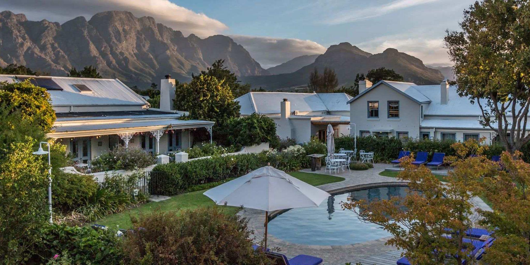 Luxury Hotels In Franschhoek South Africa