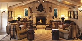 Huka Lodge in Taupo, New Zealand