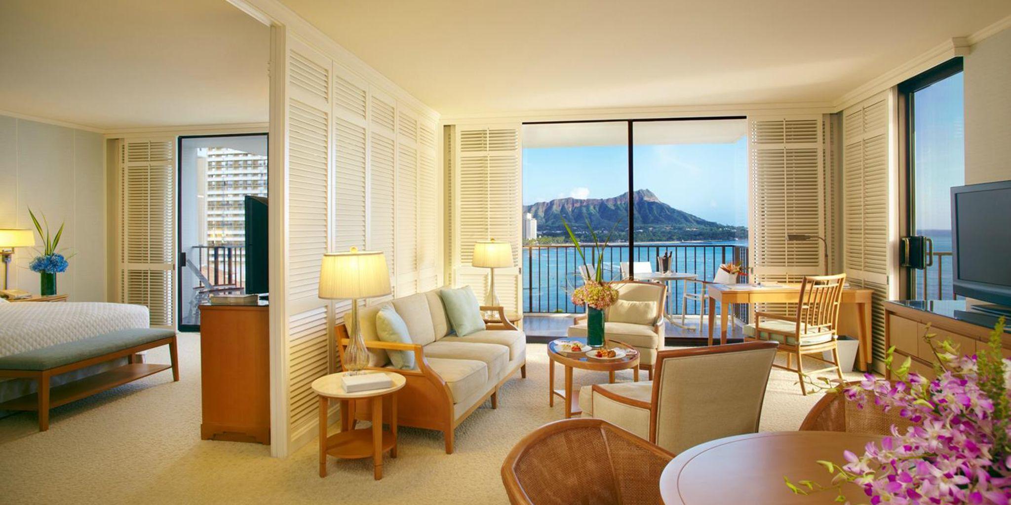 Halekulani Hotel In Honolulu Hawaii