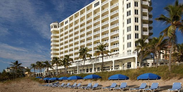 Pelican Grand Beach Resort A Le House Fort Lauderdale Florida