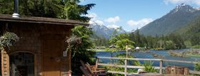Clayoquot Wilderness Resort in British Columbia, Canada