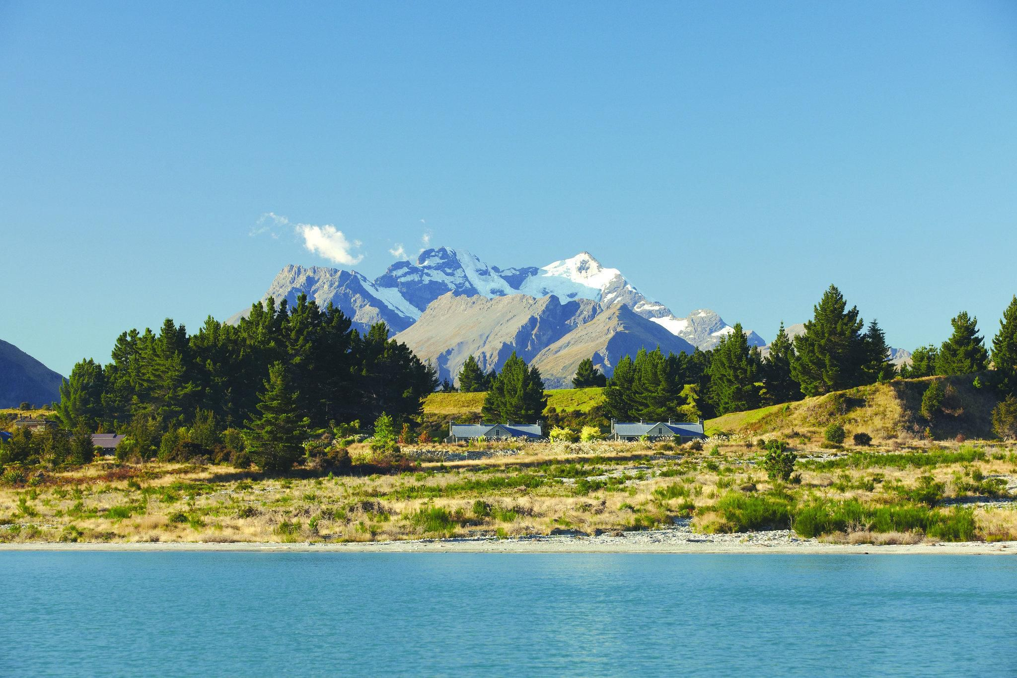 Blanket Bay In Glenorchy New Zealand