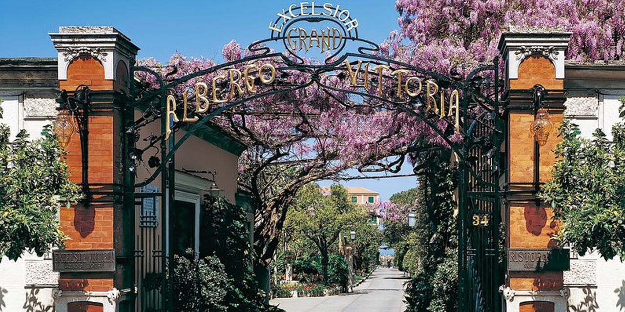 Grand Hotel Excelsior Vittoria In Sorrento Italy
