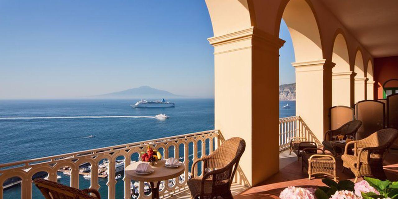 Grand Hotel Excelsior Vittoria In Sorrento Italy