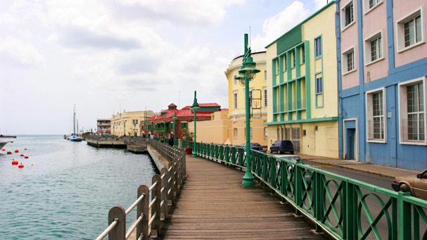 Promenade in Bridgetown