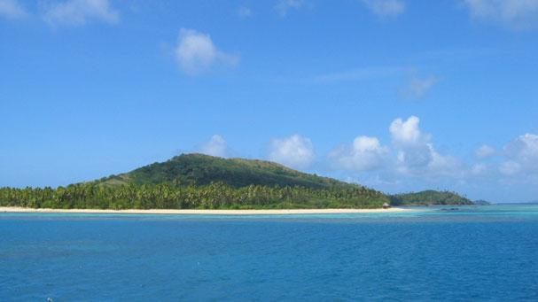 An island in fiji