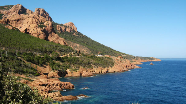 French Corniche of Esterel
