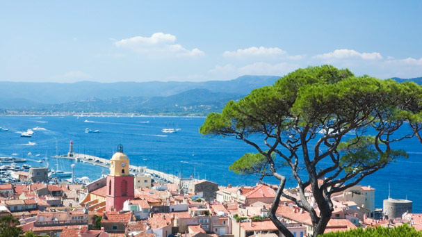 View of St. Tropez from La Citadelle