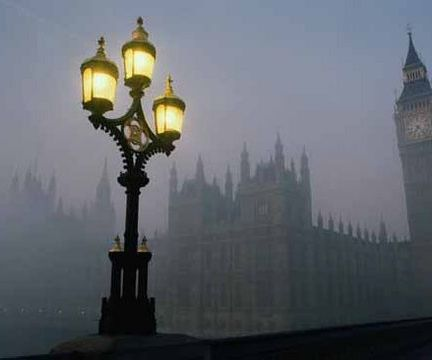 Westminster in the Fog