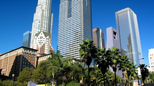 Skyscrapers of Downtown Los Angeles