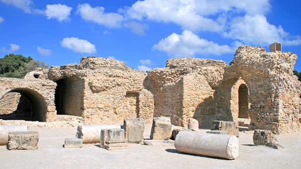 Ancient Tunisia ruins