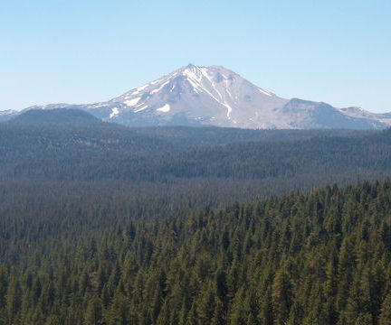 California's Mt. Lassen