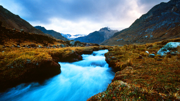 little river in the andes