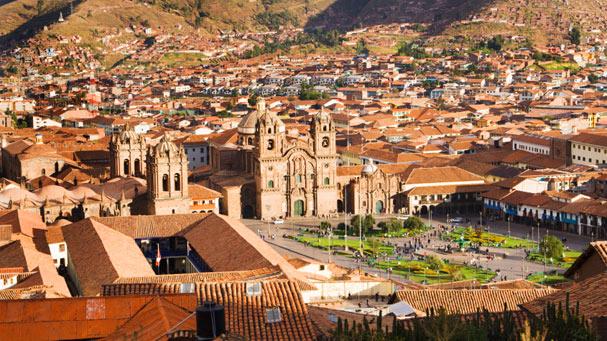 plaza de armas of cuzco