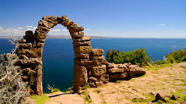 taquile island on titicaca lake