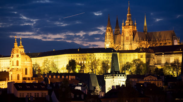 Prague Castle and St. Nicholas Church
