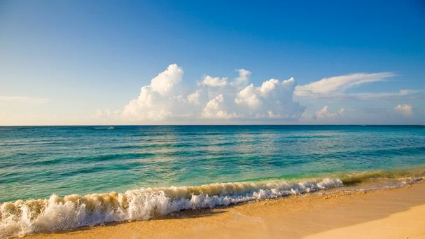 Riviera Maya coastline