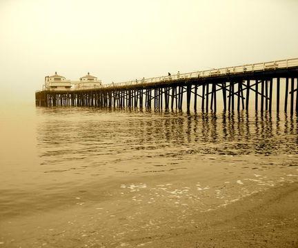 California's Malibu Pier
