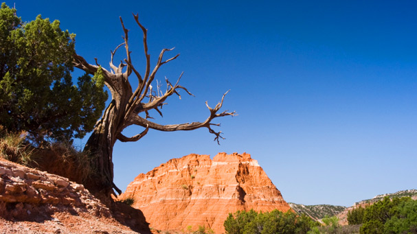 Sandstone Formations in Palo Duro Canyon State Park