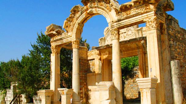An Ancient Building Ephesus