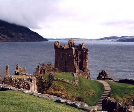 Castle On Loch Ness