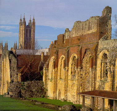 Southeast England's Canterbury Cathedral