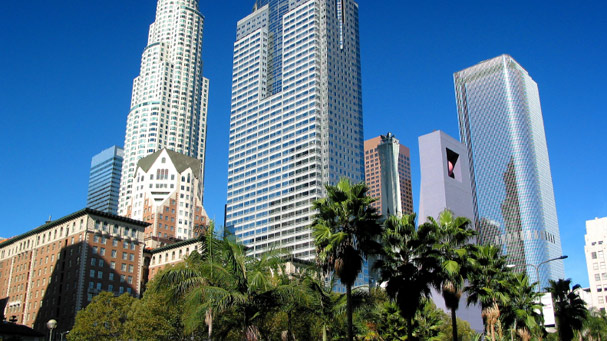Skyscrapers of Los Angeles